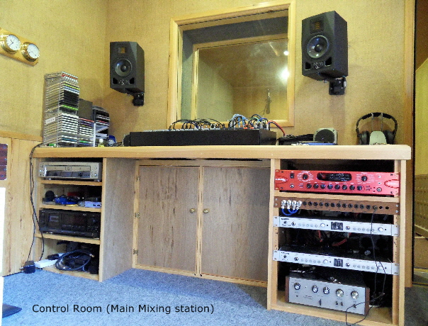 Control Room Main Mix Station